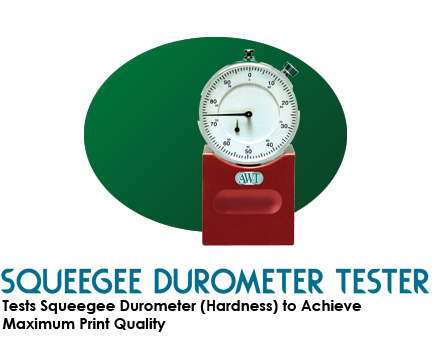 Squeegee Durometer Tester