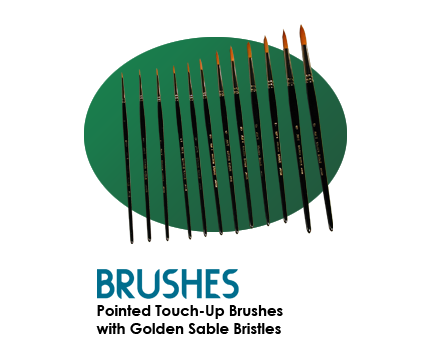 Touch-Up Brushes